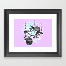Let's get Kraken Framed Art Print
