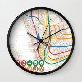 What the Future Awaits for New York I Wall Clock