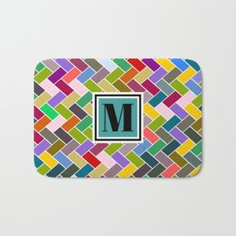 M Monogram Bath Mat