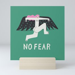 No Fear Mini Art Print