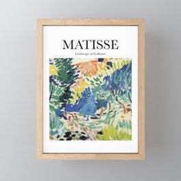 Matisse - Landscape at Collioure Framed Mini Art Print