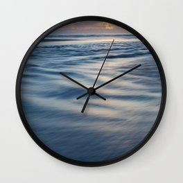 River Meets Sea Wall Clock