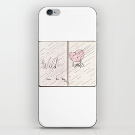 wild hearts can be broken iPhone Skin