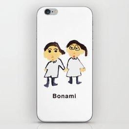Bon ami !! iPhone Skin