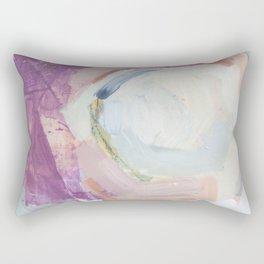 Waves: Rust Rectangular Pillow