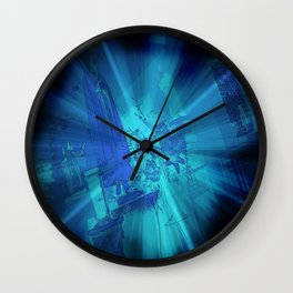 Come Into the Light Wall Clock