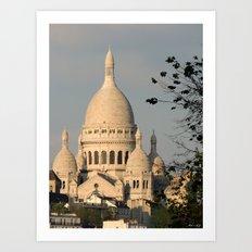 Sacred Heart - Paris Art Print