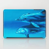 dolphin iPad Cases featuring Dolphin by Bocese
