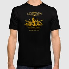 Lovecraftian Whiskey Mens Fitted Tee Black LARGE