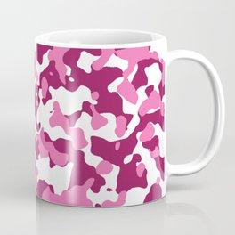 Girly Pink Camouflage Coffee Mug