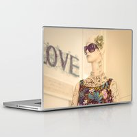 vogue Laptop & iPad Skins featuring Vogue by Carol Knudsen Photographic Artist