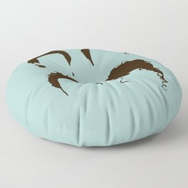 Seinfeld Hair Square Floor Pillow