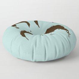 Seinfeld Hair Square Floor Pillow