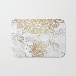 Mandala - Golden drop Bath Mat