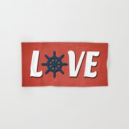 Love nautical design Hand & Bath Towel