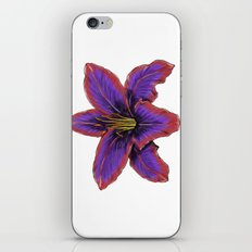 Stylized Lily iPhone & iPod Skin