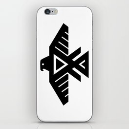 Native American Thunderbird Symbol Flag iPhone Skin