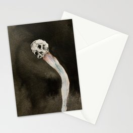 Moon's milk from my Unquiet skull (for John Balance) Stationery Cards