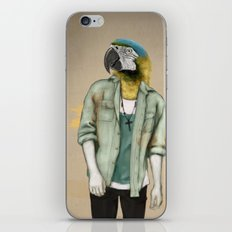 I was a Parrot before it was Cool iPhone & iPod Skin