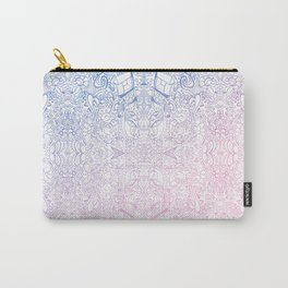 phat leaf pattern pastel gradient Carry-All Pouch