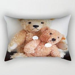 I Love Teddy Bears Rectangular Pillow