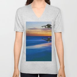 Tornado Reflection Unisex V-Neck