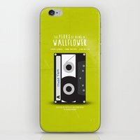 the perks of being a wallflower iPhone & iPod Skins featuring The Perks of Being A Wallflower (Vintage) by Lemontrend Studio
