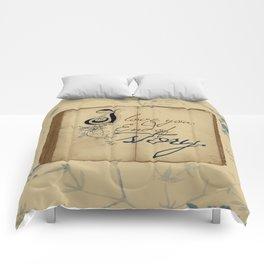 "Fairy Tale Love ""I Love You"" Comforters"