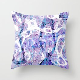 Light Decay Throw Pillow