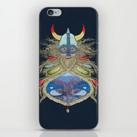 viking iPhone & iPod Skins featuring Viking by Sally Renshaw