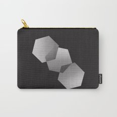 Dancing Hexagons Carry-All Pouch
