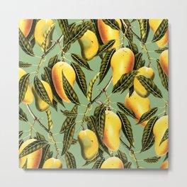 Mango Season #society6 #decor #buyart Metal Print