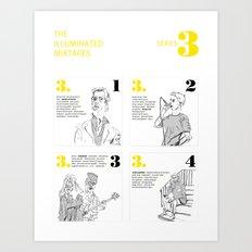 The Illuminated Mixtapes, Series 3 Art Print