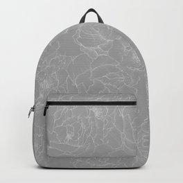 Peony Flower Pattern II Backpack