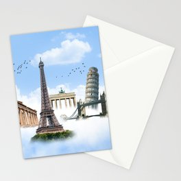 European Traveler Stationery Cards
