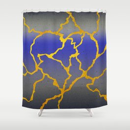 A Mended Heart Shower Curtain