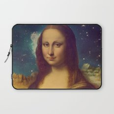 Mona Lisa's Galaxy Laptop Sleeve