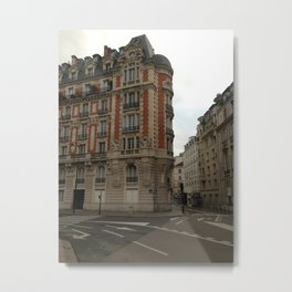 Au coin (Paris) Metal Print