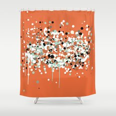 spheres 2 Shower Curtain