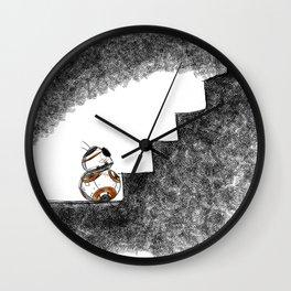 BB8 Flaws Wall Clock