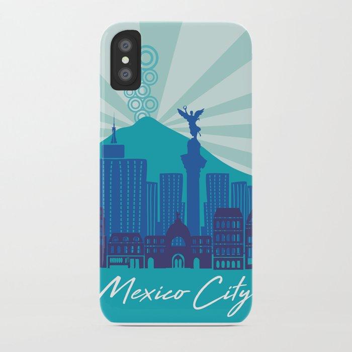 MEXICO CITY iPhone Case