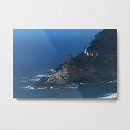 Heceta Head Lighthouse Metal Print