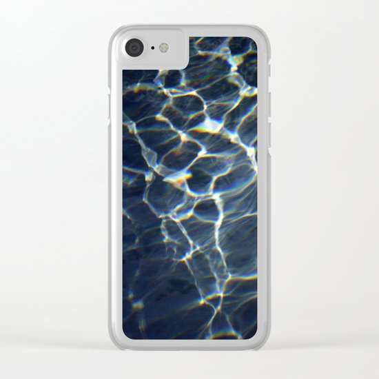 water web Clear iPhone Case