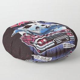 Flying Saucers Floor Pillow