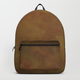 Abstract Watercolor Patch Work Blend 11 Light Brown & Dark Brown, Earth Tones Backpack