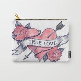 True Love Tattoo Art Carry-All Pouch