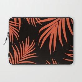 Palm Leaves Pattern Orange Vibes #1 #tropical #decor #art #society6 Laptop Sleeve