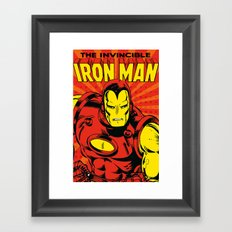 IronMan 2 Framed Art Print