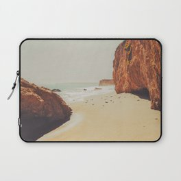 Beach Day - Ocean, Coast - Landscape Nature Photography Laptop Sleeve