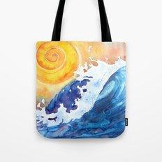 Ocean Wave Tote Bag
